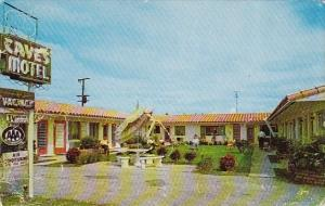 Florida Hollywood Cave's Motel 1960