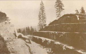 Fort Point Cut on the Central Pacific Rail Road, 70 Feet Deep and 600 Feet Lo...