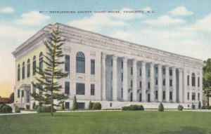 CHARLOTTE , North Carolina; 1930-40s; Mecklenburg County Court House