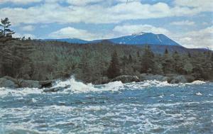 USA Mount Katahdin and the West Branch Baxter Wilderness Maine