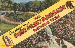 Greetings from Great Smoky Mountain National Park, Linen