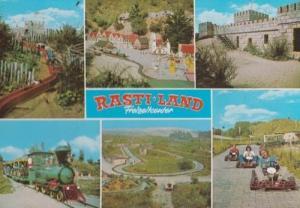 Rasti Land Freizeitcenter Toy Railway German Theme Park Postcard