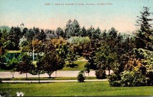 Washington Tacoma View In Wright' Park