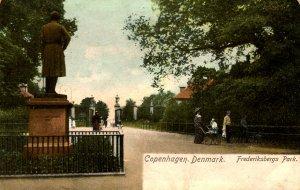 Denmark - Copenhagen. Frederiksbergs Park