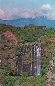 Hawaii Kauai Opaekaa Falls Falls