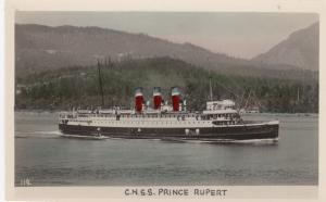 RP: VANCOUVER, B.C., Canada, 1910-1940s; C.N.S.S. Prince Rupert