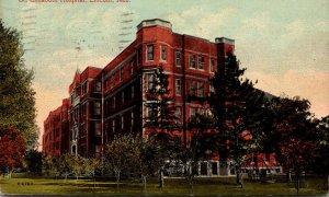 Nebraska Lincoln St Elizabeth Hospital 1916