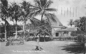 Beach Club Hotel Palm Beach Florida 1907 Postcard Rotograph undivided 12868