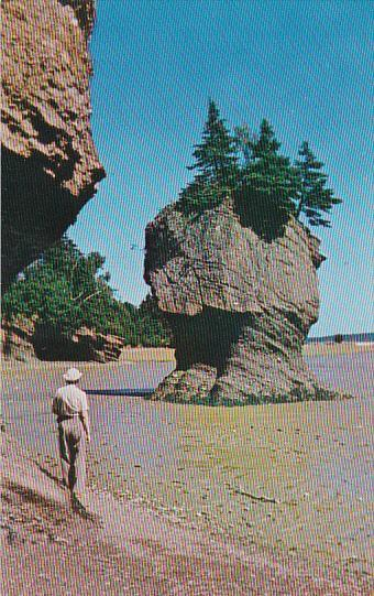 Canada New Brunswick Hopewell Rocks Peace Tranquility Rest And Nature At Its ...