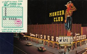 LAS VEGAS , Nevada , 50-60s ; Pioneer Club