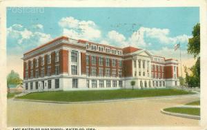 IA, Waterloo, Iowa, East Waterloo High School, Tichnor No. A-79533