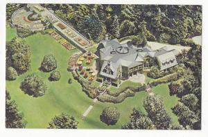 NY Tarrytown Tappan Hill Restaurant Aerial View Postcard