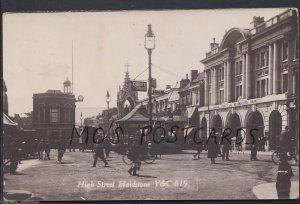 Kent Postcard - High Street, Maidstone   A5749
