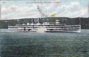 Day Line Steamer, Hendrick Hudson, New York, PU_1908