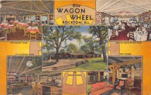9883  IL Rockton The Wagon Wheel  Restaurant  Interiors  Women ONLY Cooks