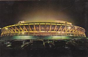 Stadium at night , ATLANTA , Georgia , 50-60s