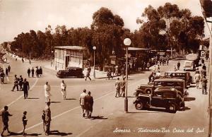 Eritrea Asmara - Ristorante-Bar Croce del Sud, auto cars voitures, animated