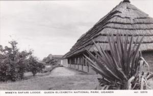 Uganda Mweya Safari Lodge Queen Elizabeth National Park Real Photo