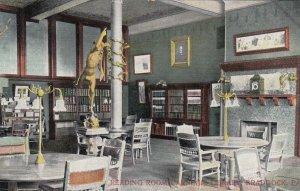 BRADDOCK, Pennsylvania, PU-1908; Reading Room, Carnegie Library