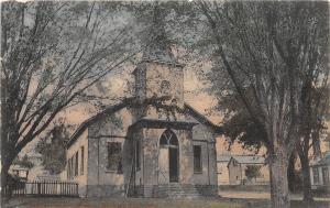 E15/ Brownsville Licking County Ohio Postcard c1910 Presbyterian Church 1