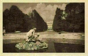 Austria Wien Schonbrunn Schlosspark Castle Park Statue Postcard