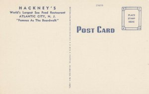ATLANTIC CITY , NJ, 30-40s; Main Dining Room, Hackney's Sea Food Restaurant
