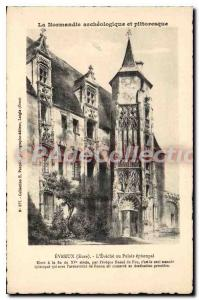 Postcard Old Normandy archaeological and scenic