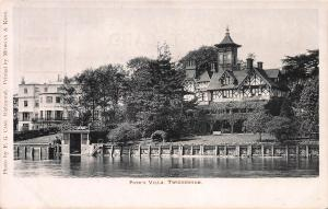 Pope's Villa, Twickenham, London, England, Early Postcard, Unused