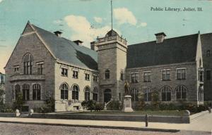 JOLIET , Illinois , PU-1918 ;  Public Library