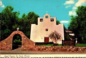 New Mexico Tularosa St Francis De Paula Franciscan Mission