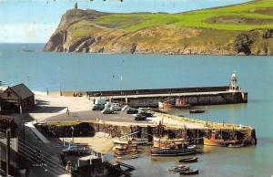 Isle of Man Bradda Head, Port Erin Vintage cars Boats