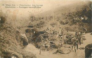 Belgian Congo Mines d'or gold mine Bongandunga 1928