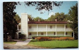 *The Steamboat House Sam Houston Memorial Museum Huntsville Texas Postcard A23