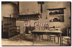 Old Postcard Musee Basque Bayonne L & # 39auberge of fisherman