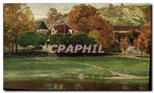 Postcard Old Museum der Bildenden Kunste zu Leipzig Ch Palmite Steinwirtshaus...