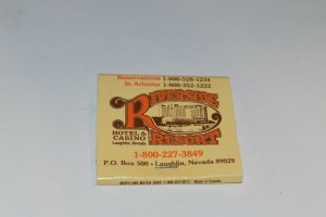 Riverside Resort Hotel and Casino Laughlin Nevada 30 Strike Matchbook