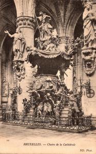 Belgium Brussels Chaire de la Cathedrale