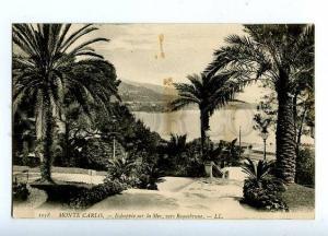 131549 MONACO Monte Carlo Echapee sur la Mer Vintage PC