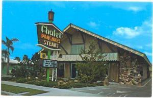 Chalet Steak and Pancake House 721 W Katella Ave. Anaheim, California CA, Chrome