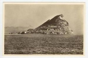 RP, View Of The Rock Along The Water, Gibraltar, 1900-1910s