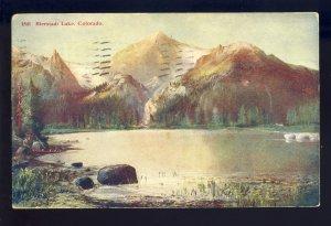 Larimer County, Colorado/CO Postcard, Bierstadt Lake, 1911!