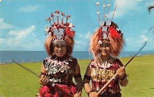 Taupous Village Virgins Fiji 1972