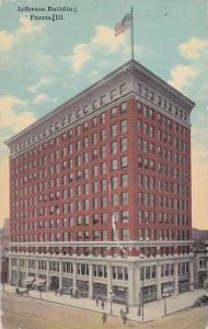 Jefferson Building, Peoria, Illinois, 1900-1910s