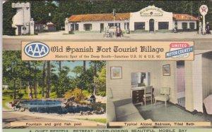 Alabama Mobile Old Spanish Fort Tourist Village sk2833