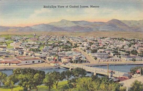 Mexico Bird's Eye View Of Ciudad Juarez