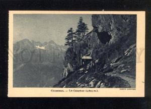 044899 FRANCE CHAMONIX Chapeau.(1.601 m.) Vintage PC
