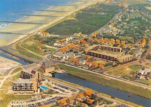Netherlands Cadzand in Vogelvlucht Cars Voitures Aerial view Beach