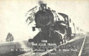 The Club Train, NY, USA Train Trains, Postcard Postcards  The Club Train, NY,...