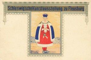 Schleswig'scheKunstausstellung zu Flensburg 1644-ALT-SYLTERIN Postcard