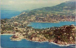 American Airlines Advertising Acapulco Mexico Aerial View Postcard G94